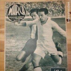 Coleccionismo de Revistas y Periódicos: MARCA, SEMANARIO GRÁFICO DE LOS DEPORTES,1939,NUMERO 35. Lote 39520193