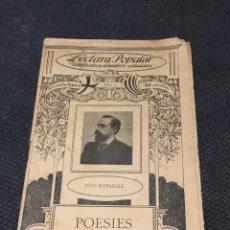 Coleccionismo de Revistas y Periódicos: ILUSTRACIO CATALANA NUMERO 1 JOAN MARAGALL. Lote 159454182