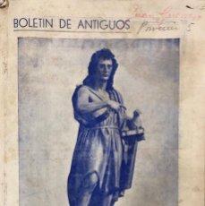 Coleccionismo de Revistas y Periódicos: BOLETIN DE ANTIGUOS. COLEGIO SAN JUAN BAUTISTA-MARIANISTAS. JEREZ, 1946. . Lote 159485478