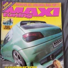 Coleccionismo de Revistas y Periódicos: REVISTA MAXI TUNING PEUGEOT 306 N. 39. Lote 159507445