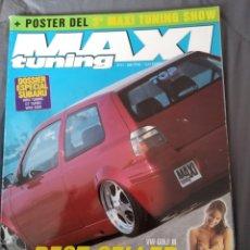 Coleccionismo de Revistas y Periódicos: REVISTA MAXI TUNING VW GOLF 3 N.41. Lote 159509516