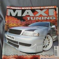 Coleccionismo de Revistas y Periódicos: REVISTA MAXI TUNING AUDI A4 N. 31. Lote 159508260
