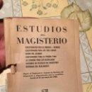 Coleccionismo de Revistas y Periódicos: ANTIGUO LIBRO / FOLLETO ESTUDIOS DEL MAGISTERIO AÑO 1956 . Lote 159589410