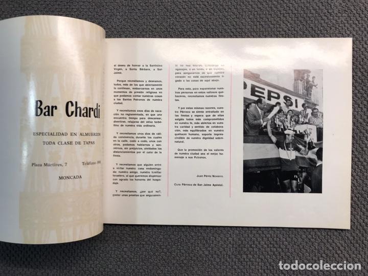 Coleccionismo de Revistas y Periódicos: MONCADA (Valencia) Libro programa de Fiestas de la Ciudad (a.1971) - Foto 2 - 159731925