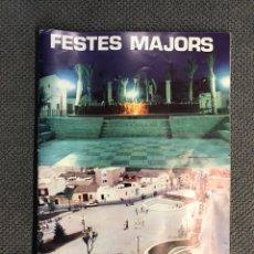 Sammeln von Zeitschriften und Zeitungen - MONCADA (Valencia) Libro programa de Fiestas de la Ciudad (a.1981) - 159732124