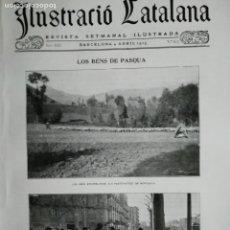 Coleccionismo de Revistas y Periódicos: ILUSTRACIÓ CATALANA Nº617 1915 LES POBLACIONS DEVALLS D'ANDORRA S. COLOMA ORDINO MOSQUERA ENCAMP. Lote 174271662