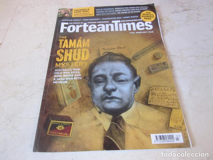 FORTEAN TIMES 351 - MARCH 2017 - THE TAMAM SHUD MYSTERY