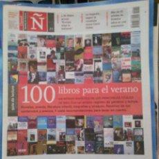 Coleccionismo de Revistas y Periódicos: REVISTA Ñ. SUPLEMENTO CULTURAL DEL DIARIO CLARIN. ARGENTINA. Lote 159844794