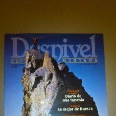 Coleccionismo de Revistas y Periódicos: REVISTA DESNIVEL. Nº 265. AGOSTO 2008. ESPECIAL PIRINEOS. Lote 159900174