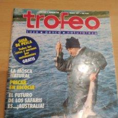 Coleccionismo de Revistas y Periódicos: REVISTA DE PESCA TROFEO 1991 N. 250. Lote 159908805