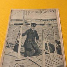 Coleccionismo de Revistas y Periódicos: ANTIGUO NUEVO MUNDO 1905 EL REY ALFONSO XIII EN BILBAO. Lote 159921538