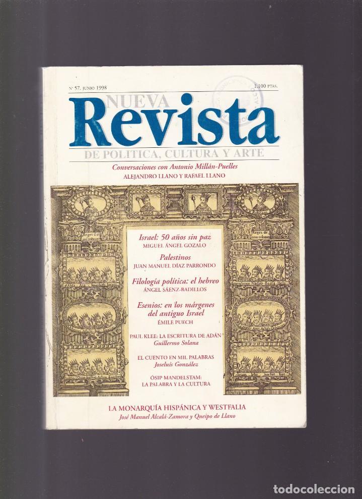 NUEVA REVISTA - POLITICA, CULTURA Y ARTE - Nº 57 / 1998 (Coleccionismo - Revistas y Periódicos Modernos (a partir de 1.940) - Otros)