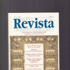 Coleccionismo de Revistas y Periódicos: NUEVA REVISTA - POLITICA, CULTURA Y ARTE - Nº 57 / 1998. Lote 159999478
