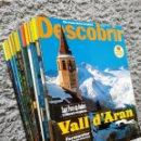 Coleccionismo de Revistas y Periódicos: DESCOBRIR CATALUNYA. 12REVISTAS. Lote 160000541