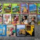 Coleccionismo de Revistas y Periódicos: REVISTAS DE VIAJES. 15 EJEMPLARES. Lote 160004858