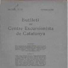 Coleccionismo de Revistas y Periódicos: SOTA EL SOL D' ÀFRICA [ MARROC ] / A. HEBRARD. ( 21 P). BUTLLETI CEC, NOV.1922. 24X17CM. 34 P.. Lote 160061774