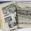 Coleccionismo de Revistas y Periódicos: LA VANGUARDIA, NOTAS GRÁFICAS. AÑO 1935 COMPLETO. EN DOS VOLÚMENES 35X48 CM.. Lote 160102966