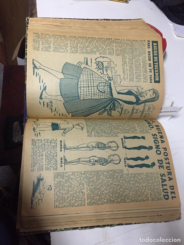 Coleccionismo de Revistas y Periódicos: Revistas Marisol semanario de la mujer año 1955/56 encuadernado - Foto 12 - 157898322