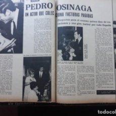 Coleccionismo de Revistas y Periódicos: PEDRO OSINAGA. Lote 160252054