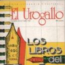 Coleccionismo de Revistas y Periódicos: REVISTA EL UROGALLO Nº 18 OCTUBRE 1987 LOS LIBROS DEL AÑO EXCELENTE SELECCIÓN MUY DOCUMENTADA FOTOS. Lote 160358258