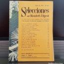 Coleccionismo de Revistas y Periódicos: REVISTA SELECCIONES DEL READERS DIGEST ENERO 1970.. Lote 160445106