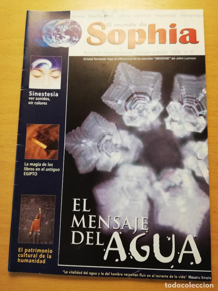 EL MUNDO DE SOPHIA Nº 37 (EL MENSAJE DEL AGUA) (Coleccionismo - Revistas y Periódicos Modernos (a partir de 1.940) - Otros)