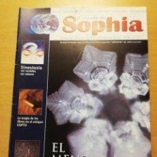 Coleccionismo de Revistas y Periódicos: EL MUNDO DE SOPHIA Nº 37 (EL MENSAJE DEL AGUA). Lote 160466026