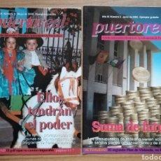 Coleccionismo de Revistas y Periódicos: PUERTO REAL. CÁDIZ. BOLETÍN INFORMATIVO MUNICIPAL. NÚMEROS 1 Y 2. MAYO JUNIO 2000. Lote 160472050