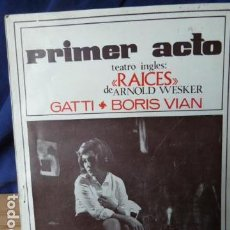 Coleccionismo de Revistas y Periódicos: PRIMER ACTO N.79. Lote 160530246