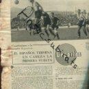 Coleccionismo de Revistas y Periódicos: PERIODICO AÑO 1939 FUTBOL DE POSGUERRA ESPAÑOL F.C.BARCELONA SABADELL CIRCO PALACIO LIRIA . Lote 160548622