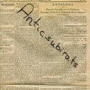 Coleccionismo de Revistas y Periódicos: DIARI 1938 GUERRA CIVIL ERC ESQUERA REPUBLICANA DE CATALUNYA REUNIO VALLS VILABOI SANT BOI LLOBREGAT. Lote 160551522
