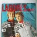 Coleccionismo de Revistas y Periódicos: LABORES DEL HOGAR NOVIEMBRE 1972 PUNTO INVIERNO CON PATRONES. Lote 160562573