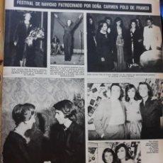 Coleccionismo de Revistas y Periódicos: RAPHAEL GRACIA MONTES MANOLO ESCOBAR CARMEN POLO . Lote 160562830