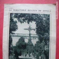 Coleccionismo de Revistas y Periódicos: SEVILLA.-JARDINES DE MURILLO.-REPORTAJE DE REVISTA.-AÑOS 20.. Lote 160581418