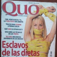 Coleccionismo de Revistas y Periódicos: REVISTA QUO Nº 8, 5/1996 /// MUY INTERESANTE / NATIONAL GEOGRAPHIC / CNR / GEO / HISTORIA / DT / FHM. Lote 160597878
