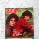 Coleccionismo de Revistas y Periódicos: SEMANA - 1973 - GINA LOLLOBRIGIDA, IRA DE FURSTENBERG, PERET, CAROLINA, SYLVIE VARTAN Y J. HALLYDAY. Lote 160668814