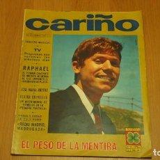 Coleccionismo de Revistas y Periódicos: CARIÑO Nº 15 FOTONOVELA ~ RAPHAEL ~ JOSE MARIA RODERO Y ELVIRA QUINTILLA ~ VER FOTOS INTERIOR. Lote 160720038