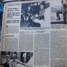 Coleccionismo de Revistas y Periódicos: VICTOR MANUEL DE SABOYA MARINA DORIA. Lote 160751754