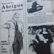 Coleccionismo de Revistas y Periódicos: ABRIGOS GALERIAS PRECIADOS . Lote 160754094