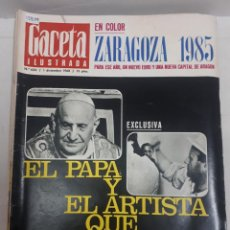 Coleccionismo de Revistas y Periódicos: 15858 - REVISTA - GACETA ILUSTRADA - Nº 634 - AÑO 1968. Lote 160794786
