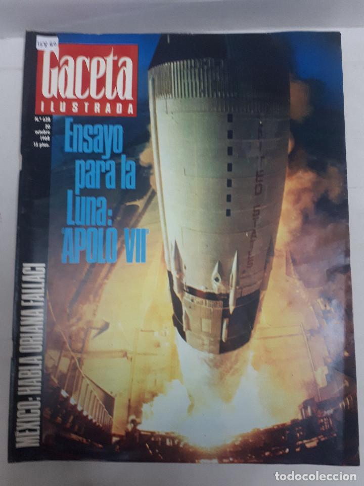 15860 - REVISTA - GACETA ILUSTRADA - Nº 628 - AÑO 1968 (Coleccionismo - Revistas y Periódicos Modernos (a partir de 1.940) - Otros)