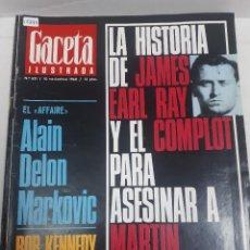 Coleccionismo de Revistas y Periódicos: 15873 - REVISTA - GACETA ILUSTRADA - Nº 631 - AÑO 1968. Lote 160796230