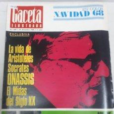 Coleccionismo de Revistas y Periódicos: 15875 - REVISTA - GACETA ILUSTRADA - Nº 637 - AÑO 1968. Lote 160796426