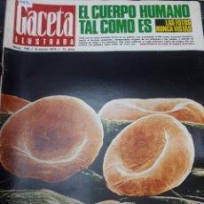 Coleccionismo de Revistas y Periódicos: 15881 - REVISTA - GACETA ILUSTRADA - Nº 700 - AÑO 1970 . Lote 160796910