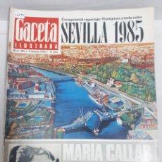 Coleccionismo de Revistas y Periódicos: 15890 - REVISTA - GACETA ILUSTRADA - Nº 696 - AÑO 1970 . Lote 160797694