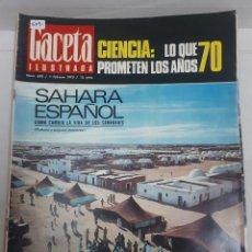 Coleccionismo de Revistas y Periódicos: 15891 - REVISTA - GACETA ILUSTRADA - Nº 695 - AÑO 1970 . Lote 160797766