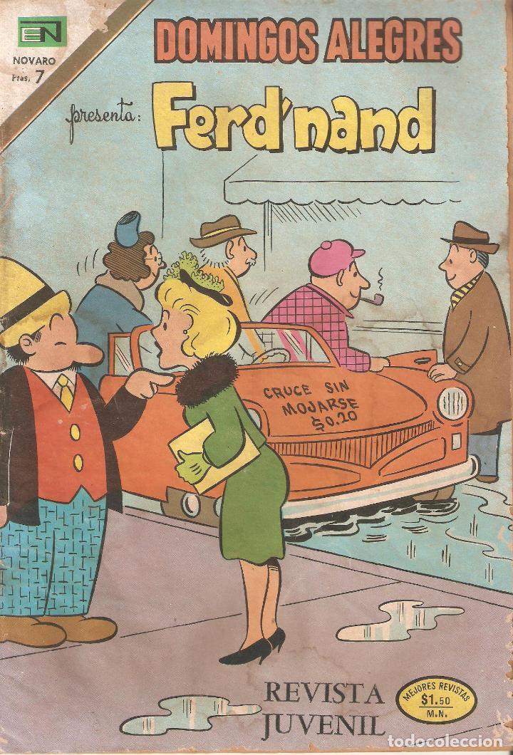 DOMINGOS ALEGRES PRESENTA FERD'NAND REVISTA JUVENIL (Coleccionismo - Revistas y Periódicos Modernos (a partir de 1.940) - Otros)