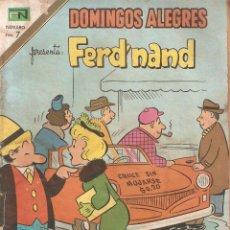 Coleccionismo de Revistas y Periódicos: DOMINGOS ALEGRES PRESENTA FERD'NAND REVISTA JUVENIL . Lote 160808598