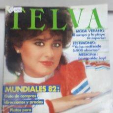 Coleccionismo de Revistas y Periódicos: 16344 - TELVA - REVISTA DE MODA - Nº 444 - AÑO 1982. Lote 160906630