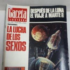 Coleccionismo de Revistas y Periódicos: 15962 - REVISTA - GACETA ILUSTRADA - Nº 705 - AÑO 1970. Lote 160933422